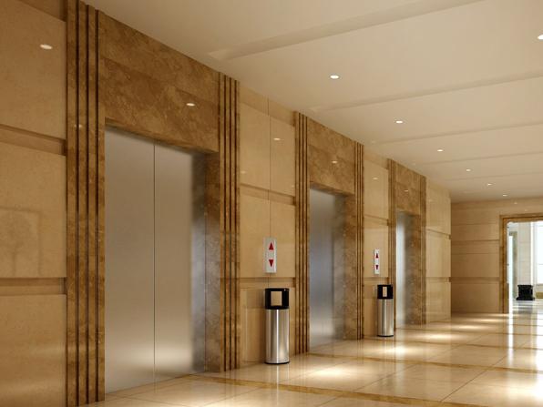 万州小区电梯施工