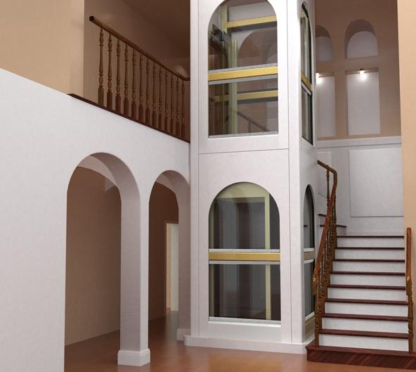 别墅电梯设计施工